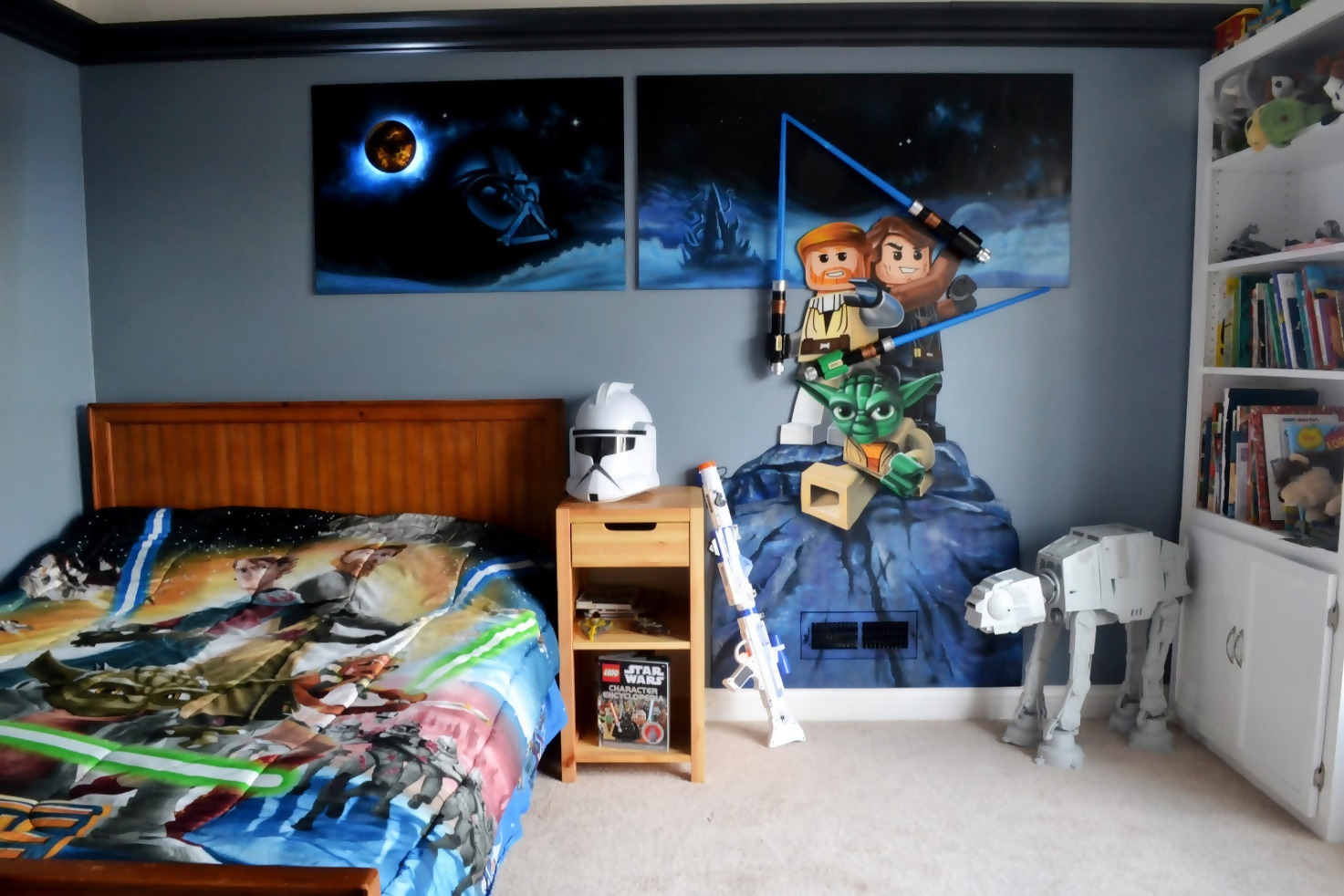 Cool Star Wars Bedroom Décor Ideas