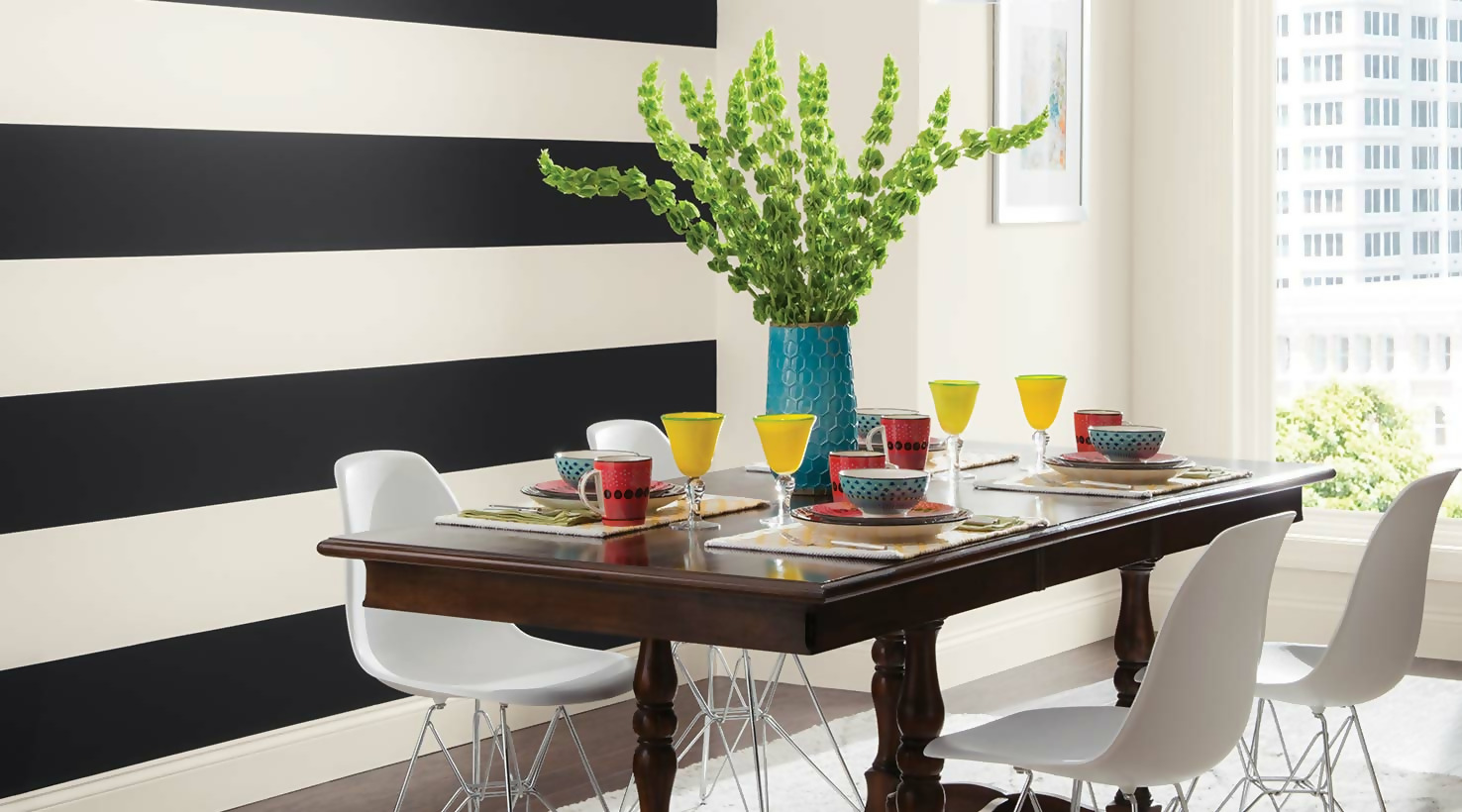 Colorful Dining Room Décor