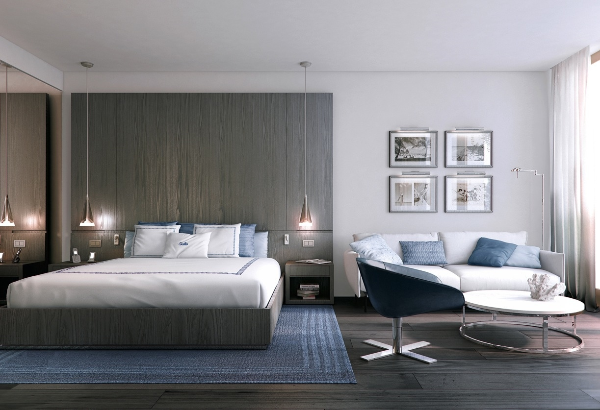 The basics of a good hotel room design interior design for Modern hotel decor