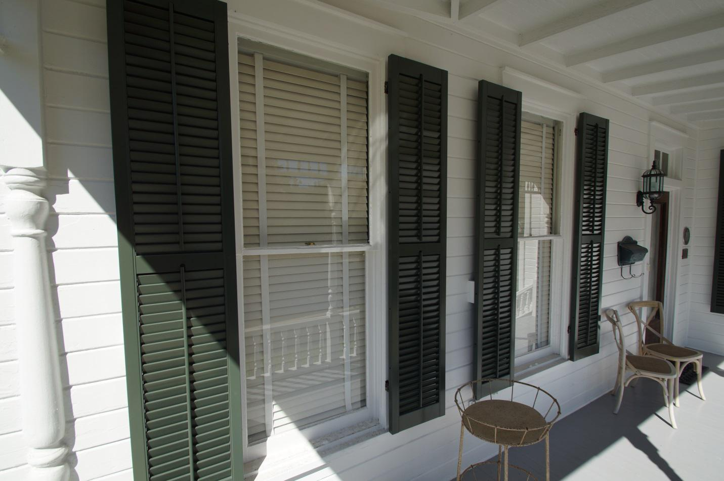 Exterior shutters add value and increase the appeal of your house interior design explained for Exterior louvered window shutters