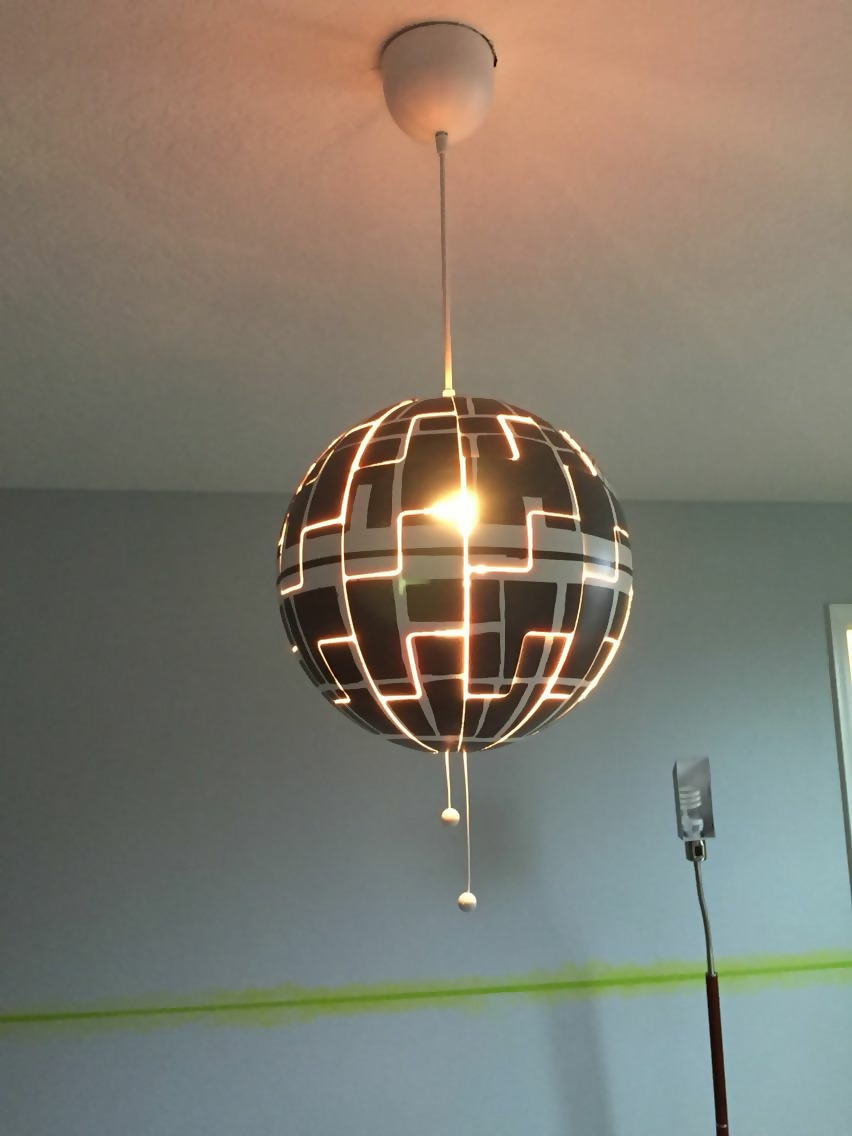Star Wars-Style Hanging Lights