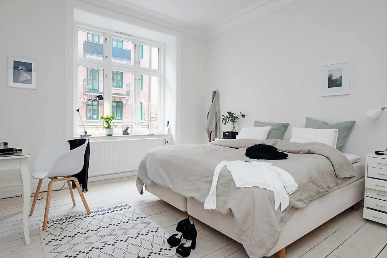 Scandi Bedroom Design