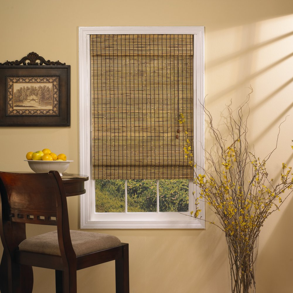 Bamboo window treatments for your home interior design for Shades and window treatments