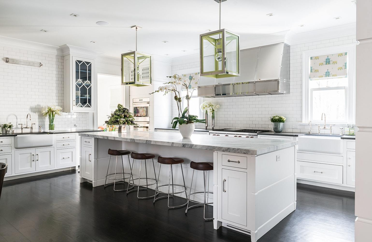 Elegant Kitchen Islands