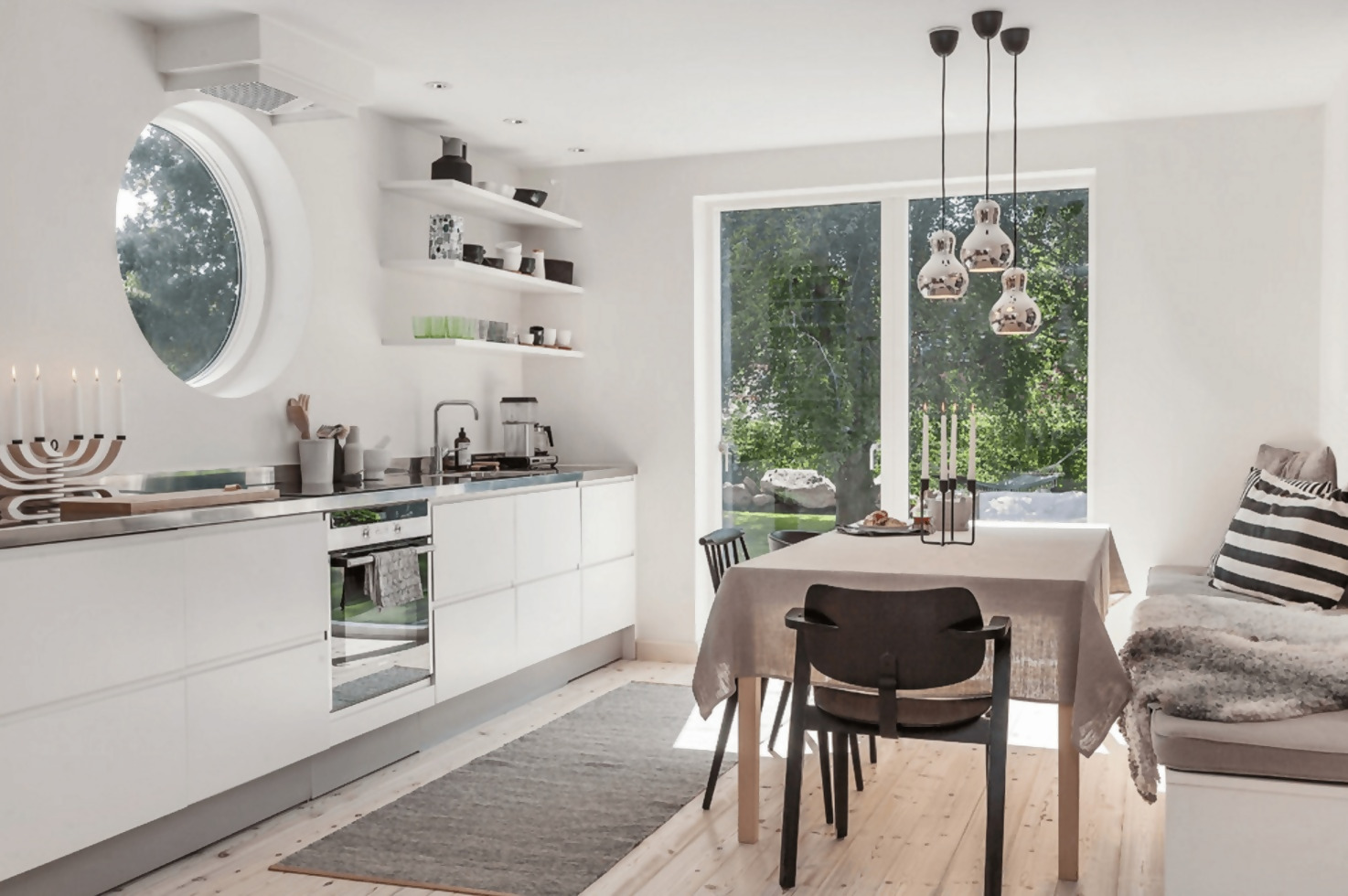Scandinavian Kitchen Décor