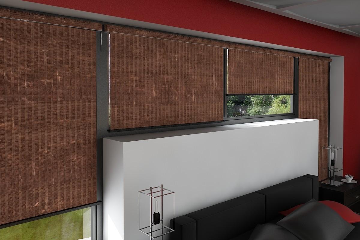 foto de Bamboo window treatments for your home Interior Design