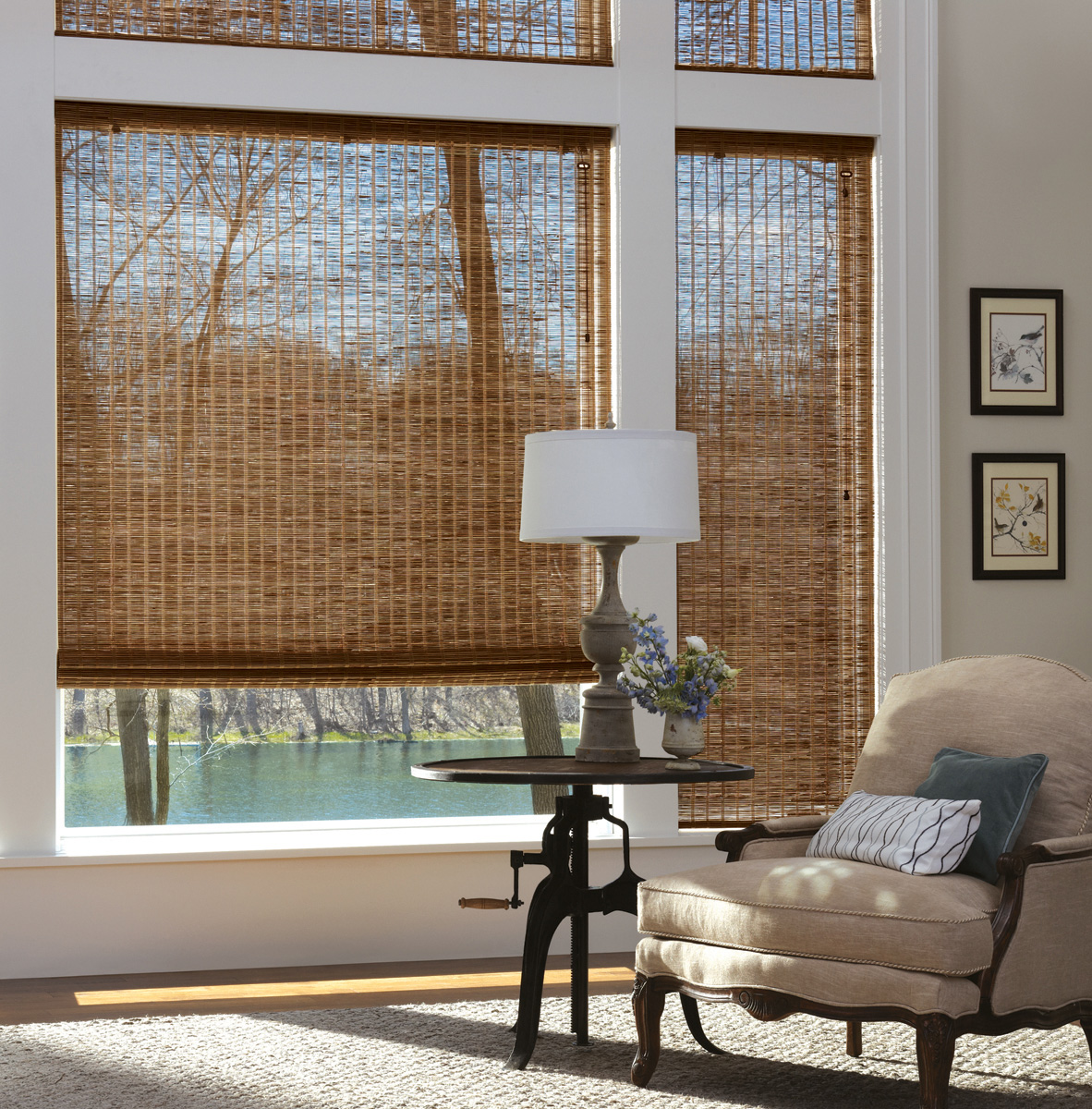 Bamboo window treatments for your home interior design for Decorating styles explained