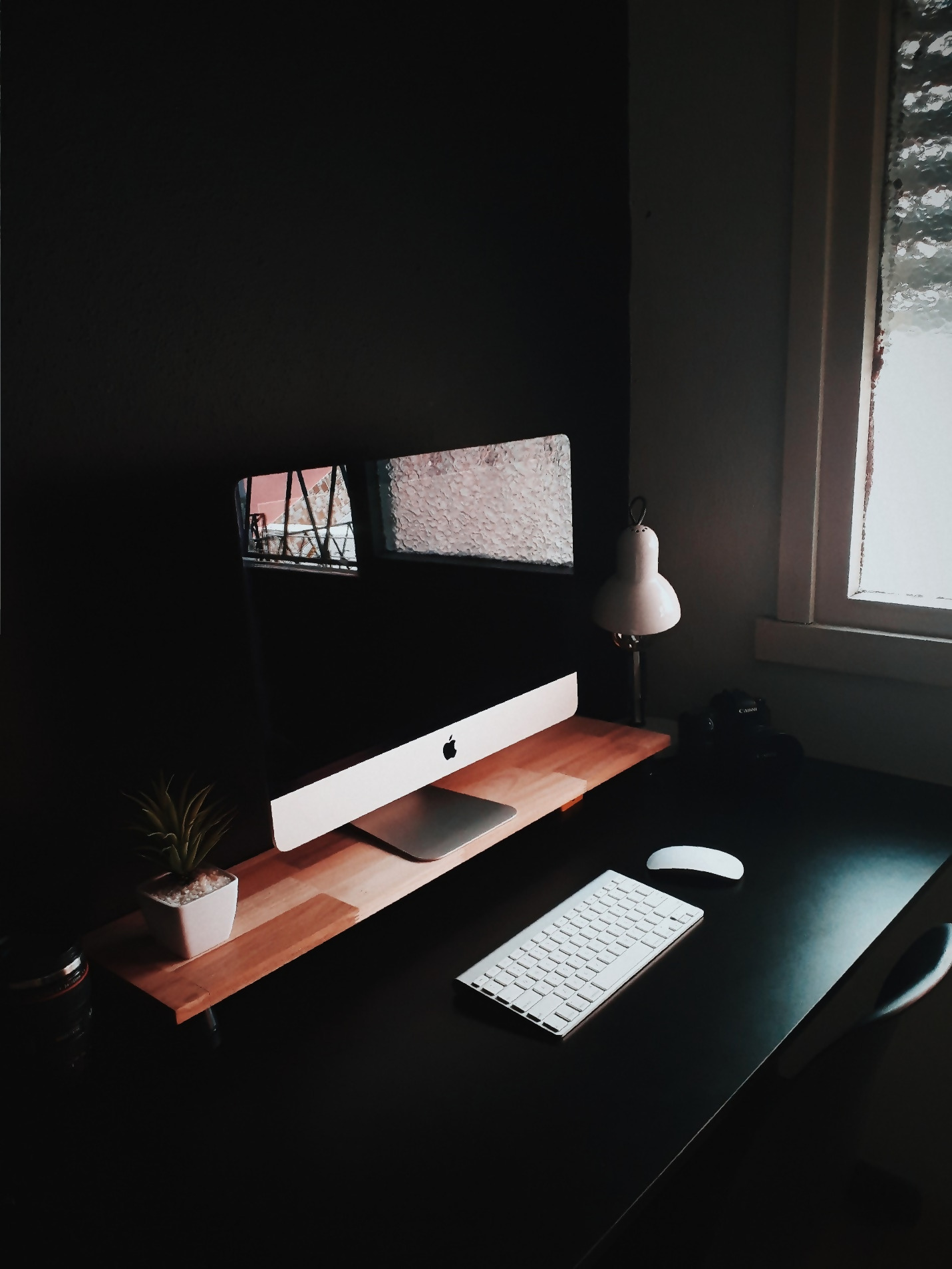 Dark Home Office