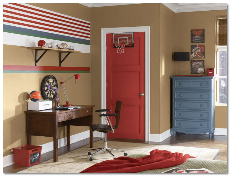 Sports-inspired teen room ideas
