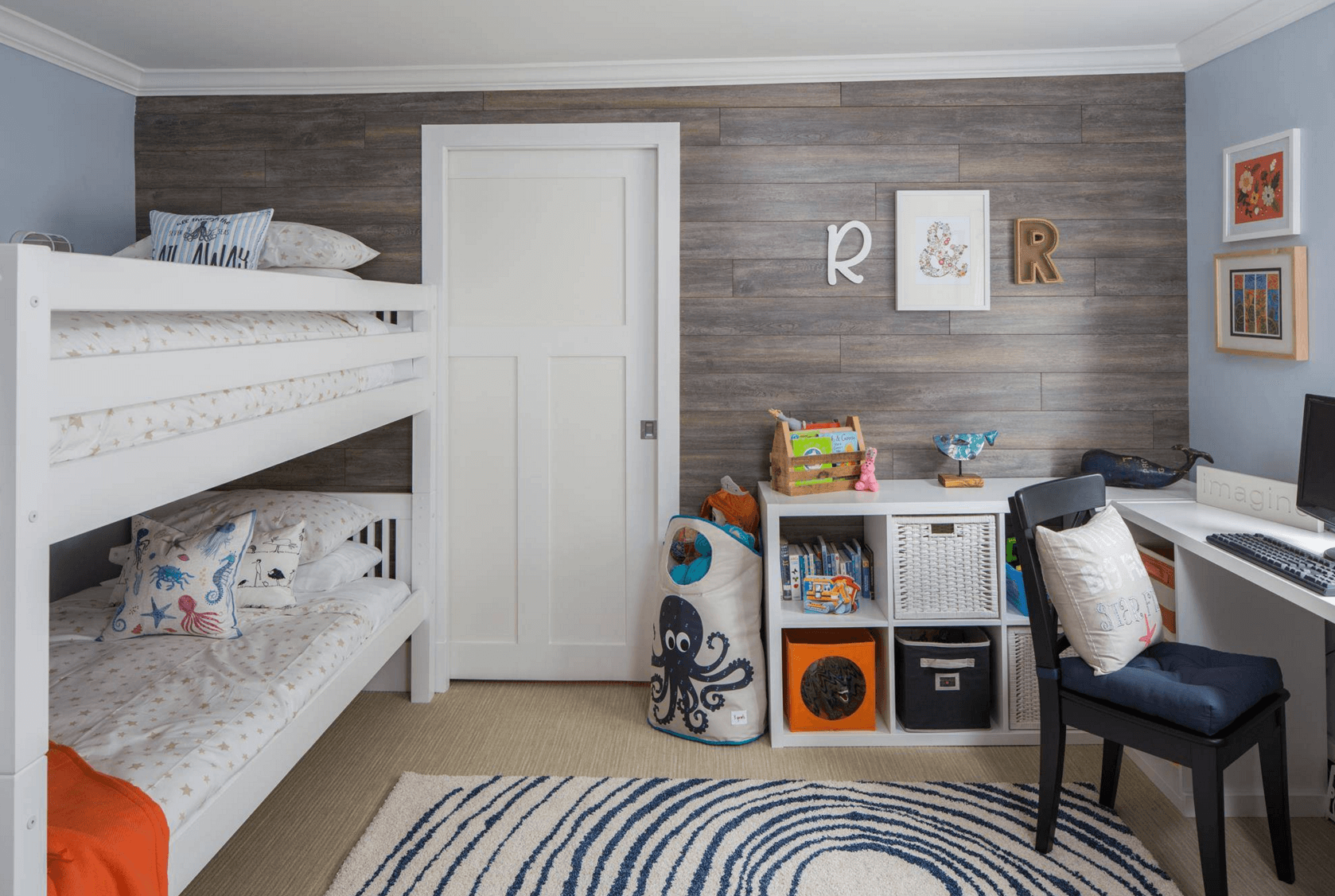 Cool Shared Bedroom For Your Kids