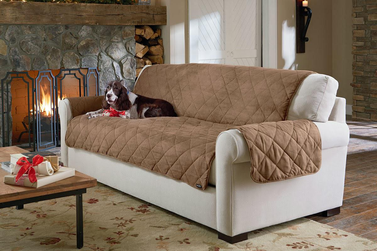 Pet-proof furniture covers