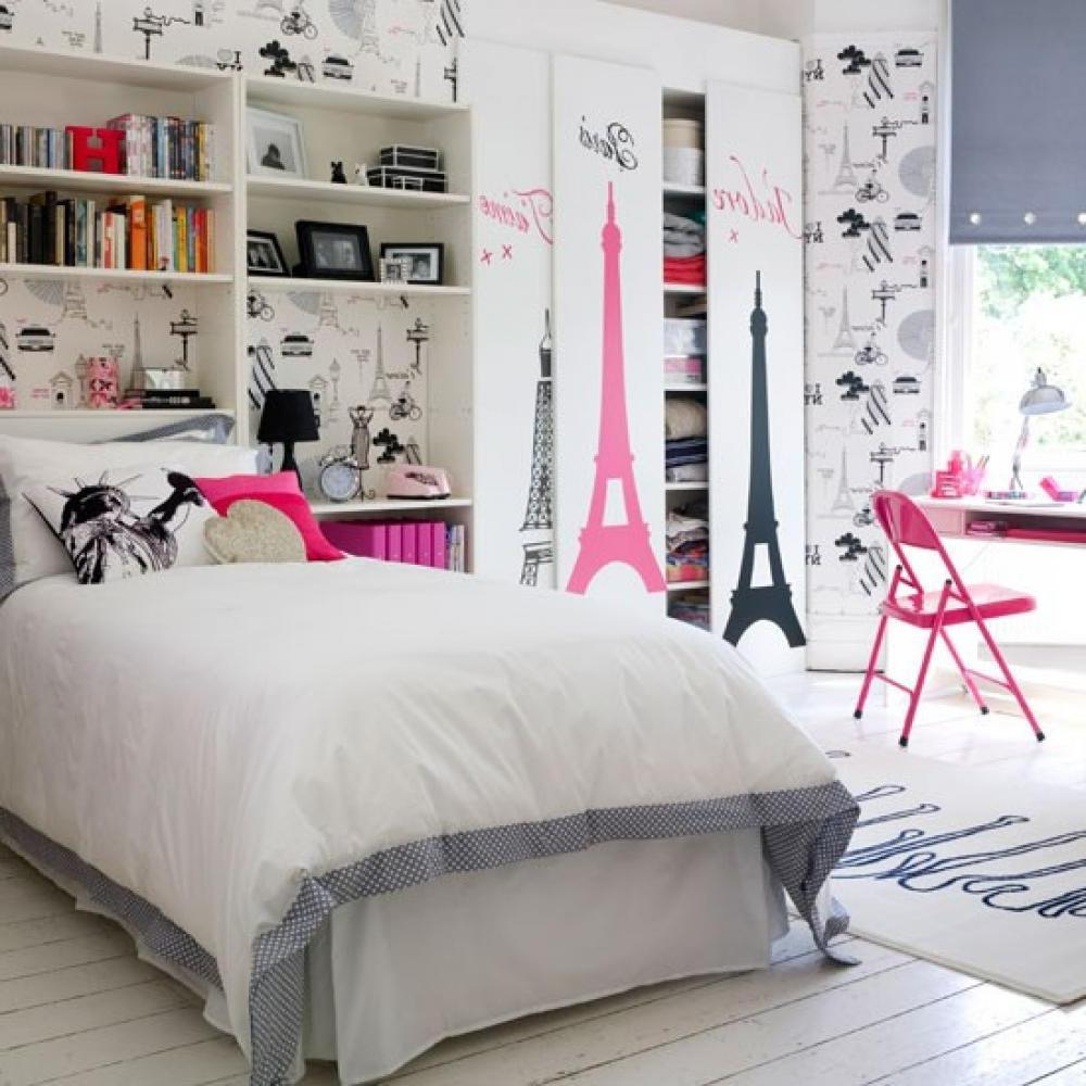 Interior Perfect Teenage Girl Bedroom designing teen centered bedrooms interior design explained using decals in rooms