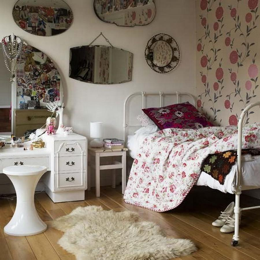 Bring Vintage Appeal To Your Teenage Girls Bedroom