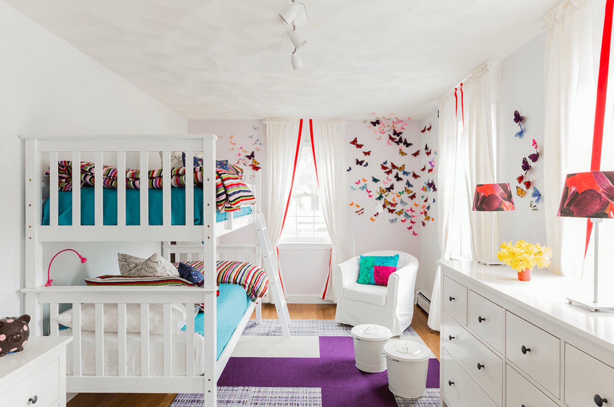 Kid's Playroom Themes For Girls