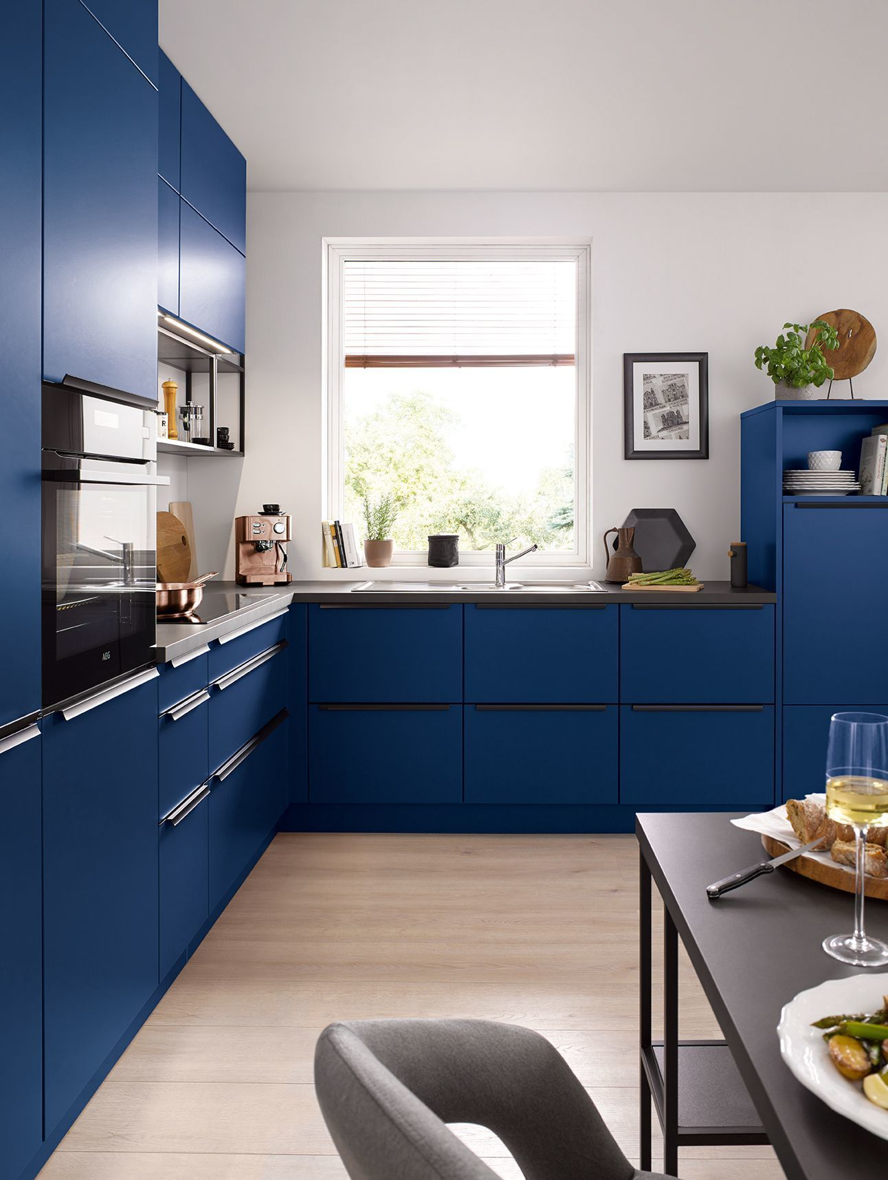 Blue Kitchen Decor