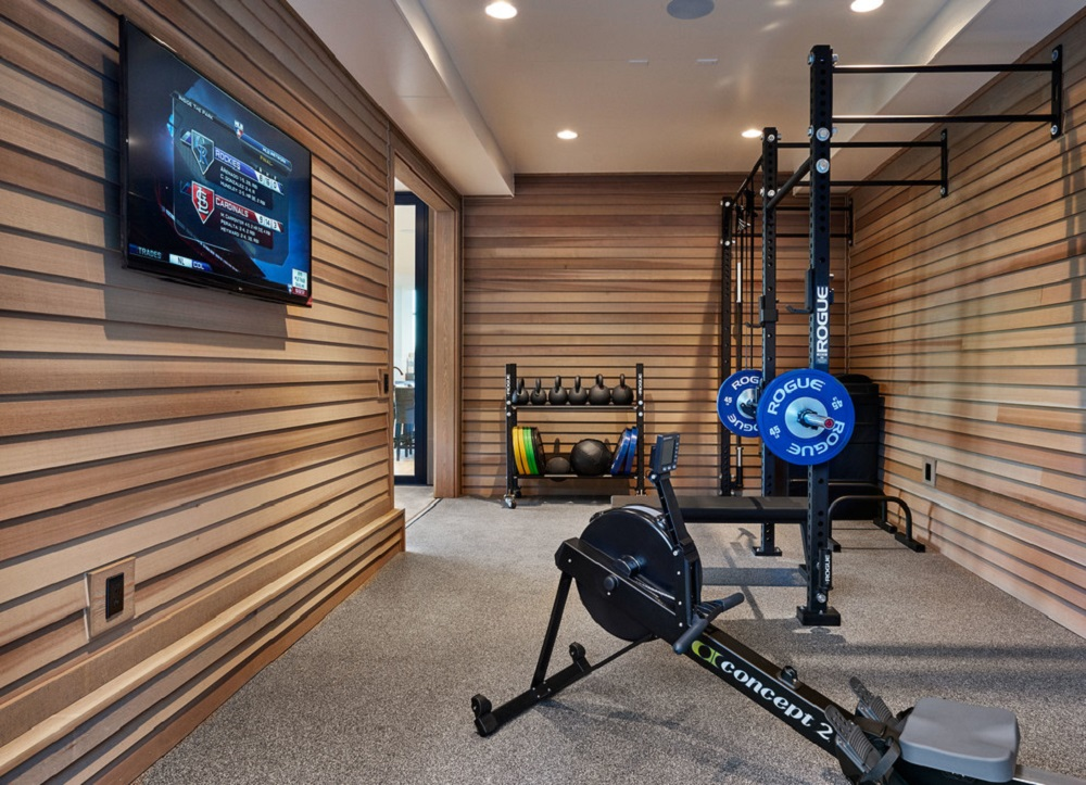 Wood Paneling for Your Home Gym