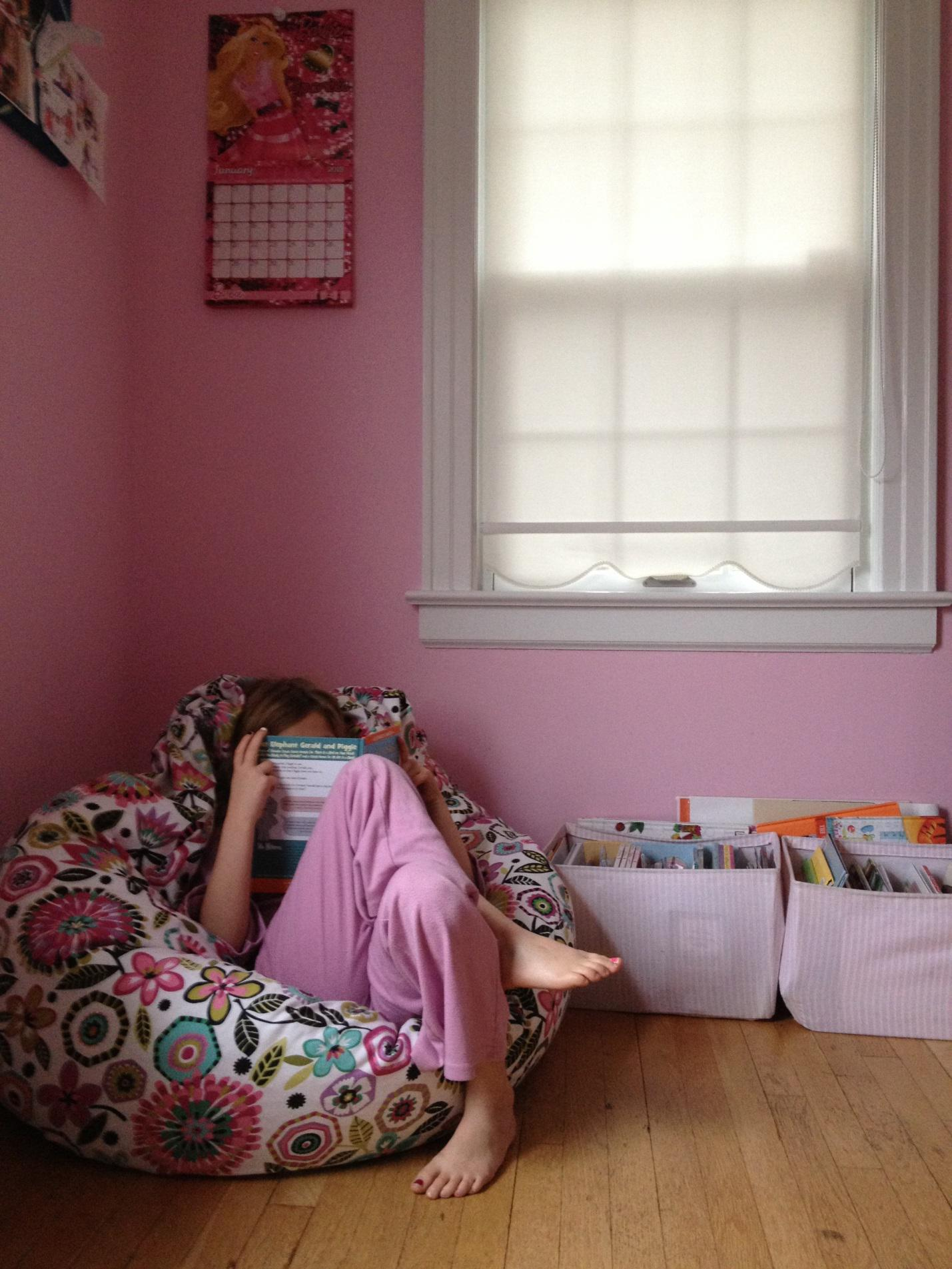 Build a reading nook inside your teen's bedroom