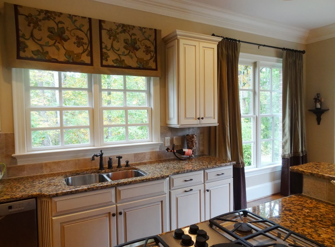 Luxury Valances For Kitchen Windows