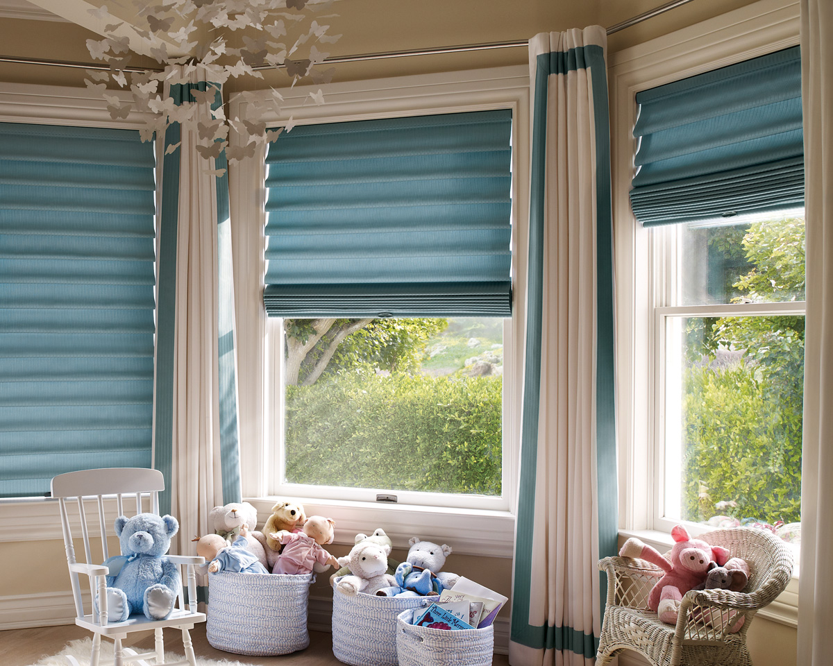 Light blocking window treatments - Hunter Douglas Shades For Nursery Windows