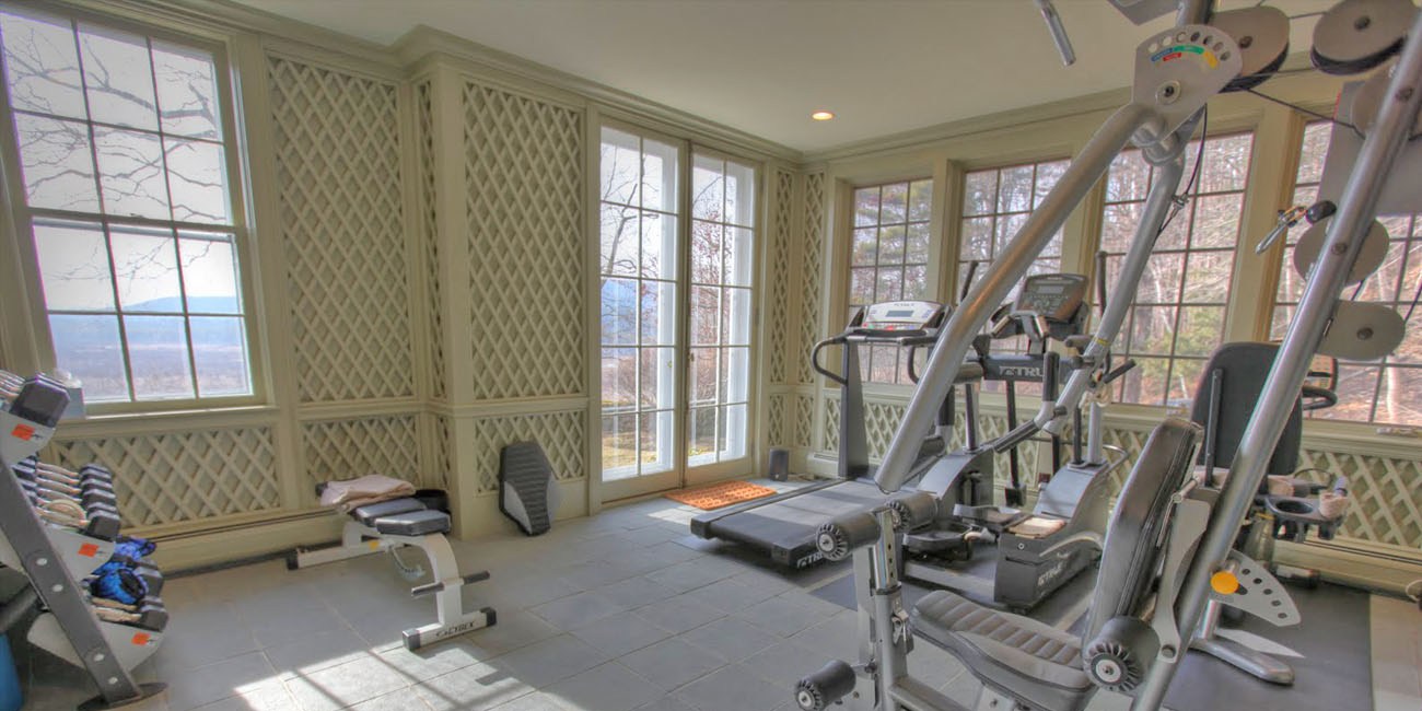 Build a Gym in your Sunroom