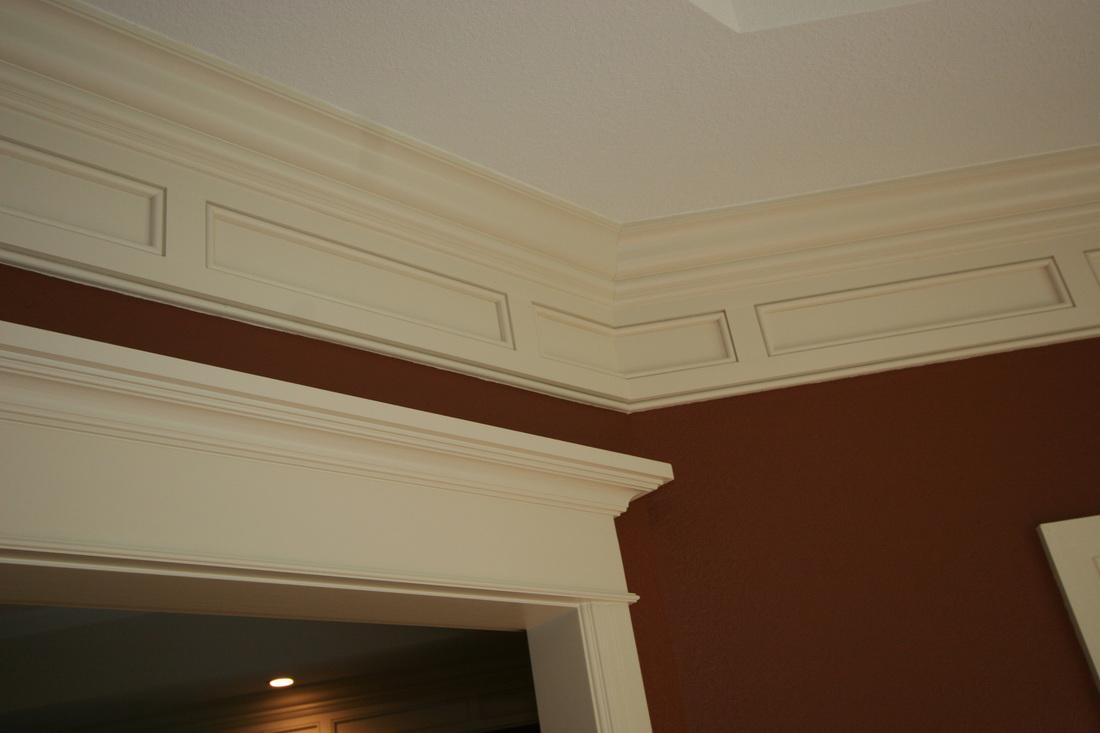 Custom wood crown molding