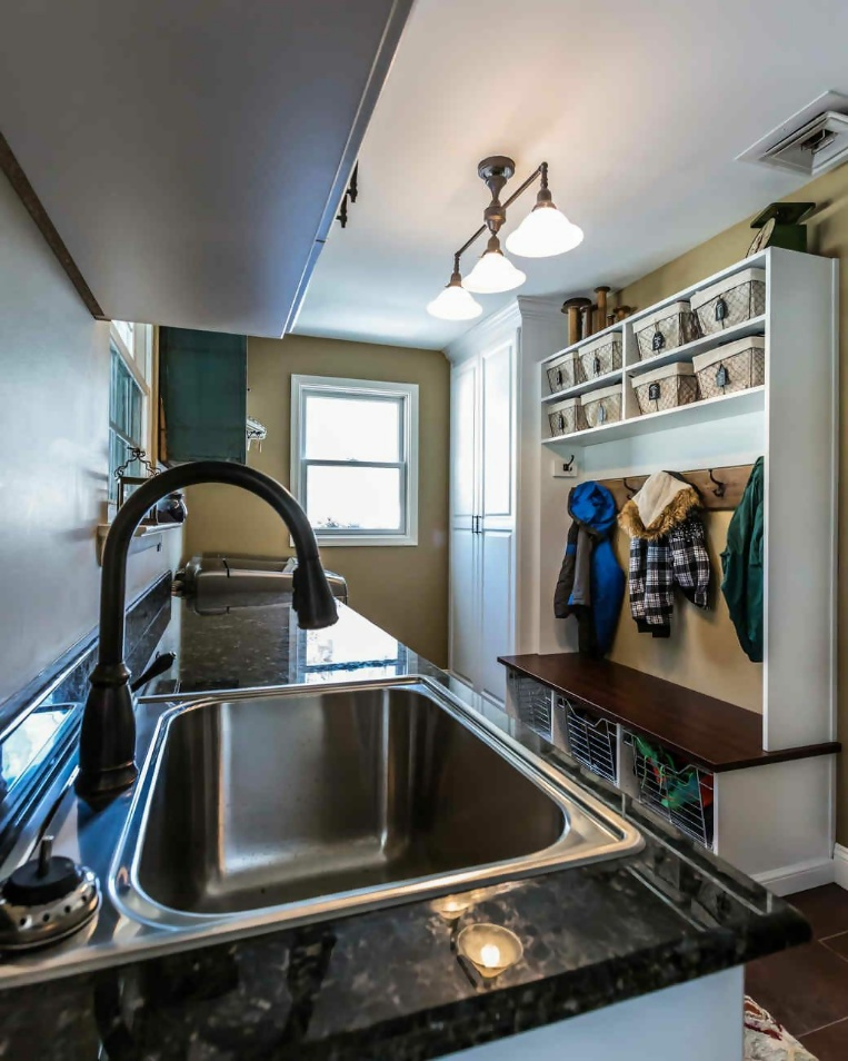 Mudroom And Kitchen