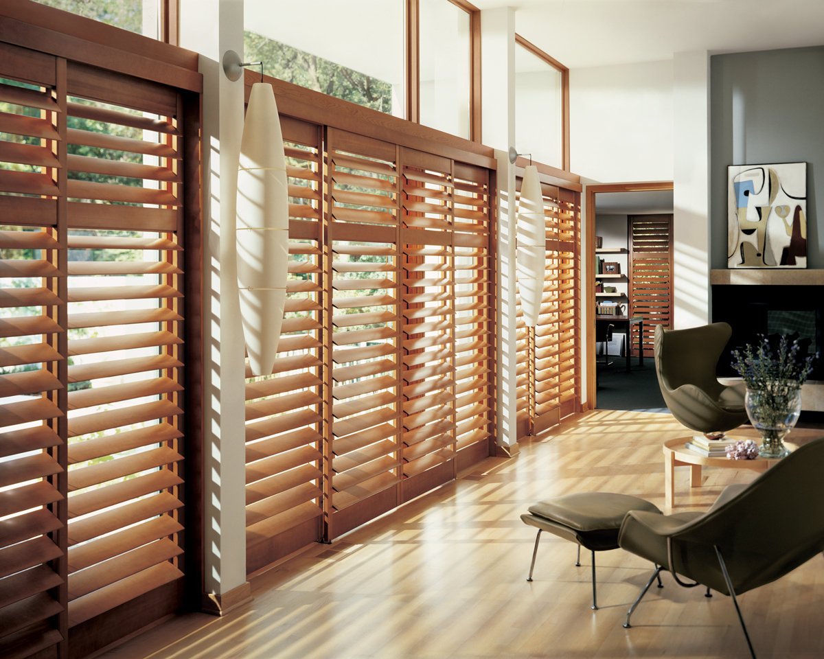 Wood window treatments