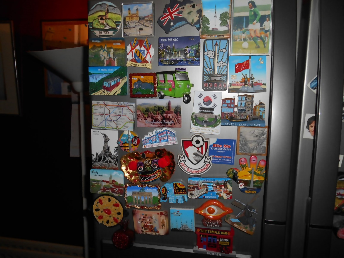 Keep In Mind Travel Magnets