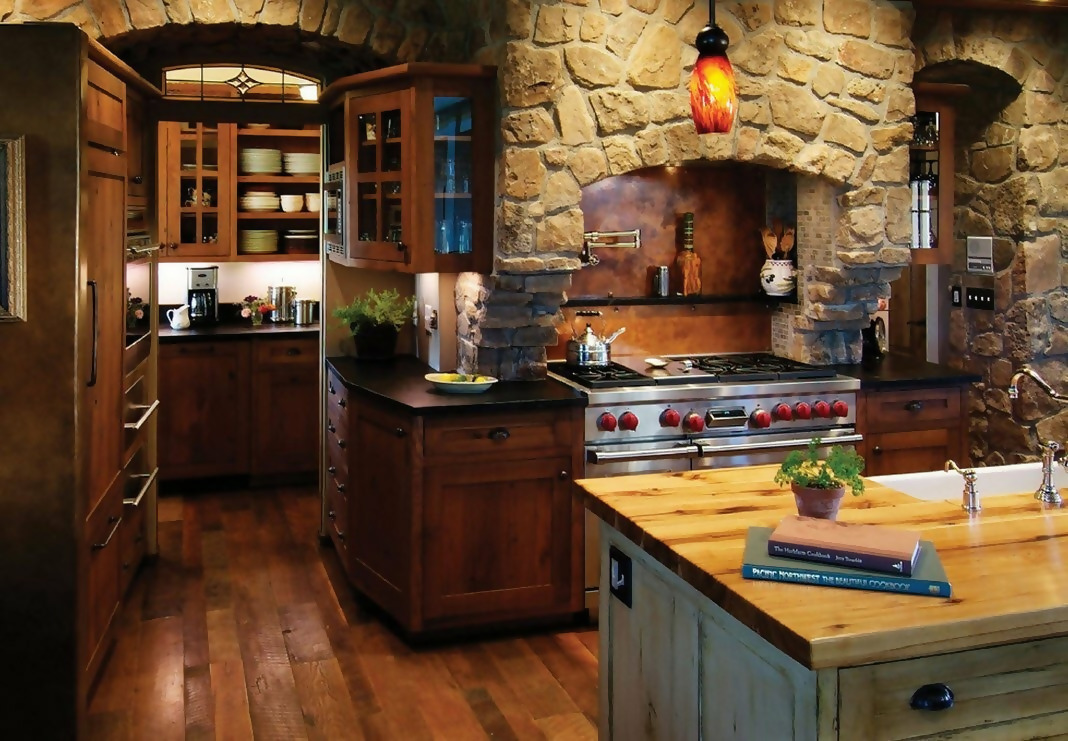 Rustic Kitchen Décor