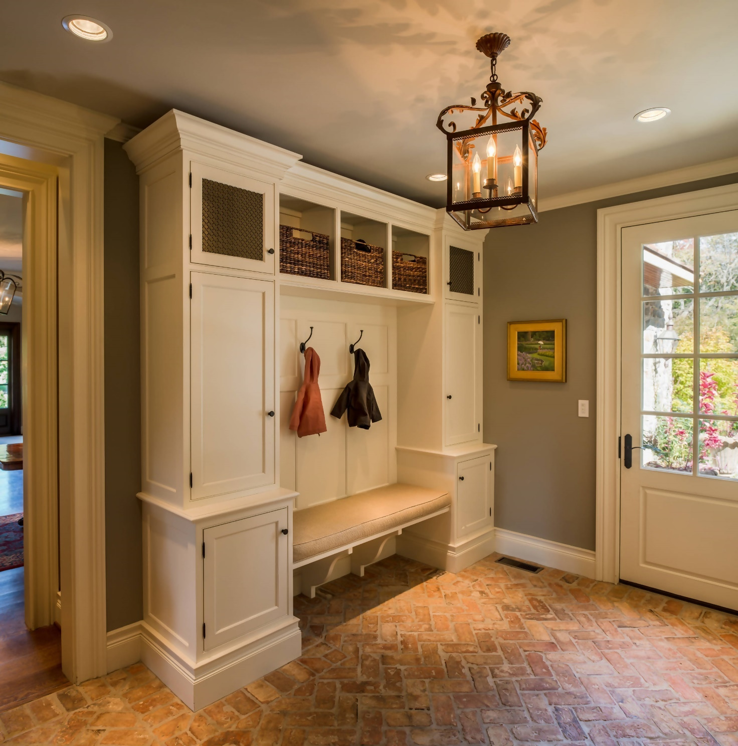 Traditional Style Mudroom
