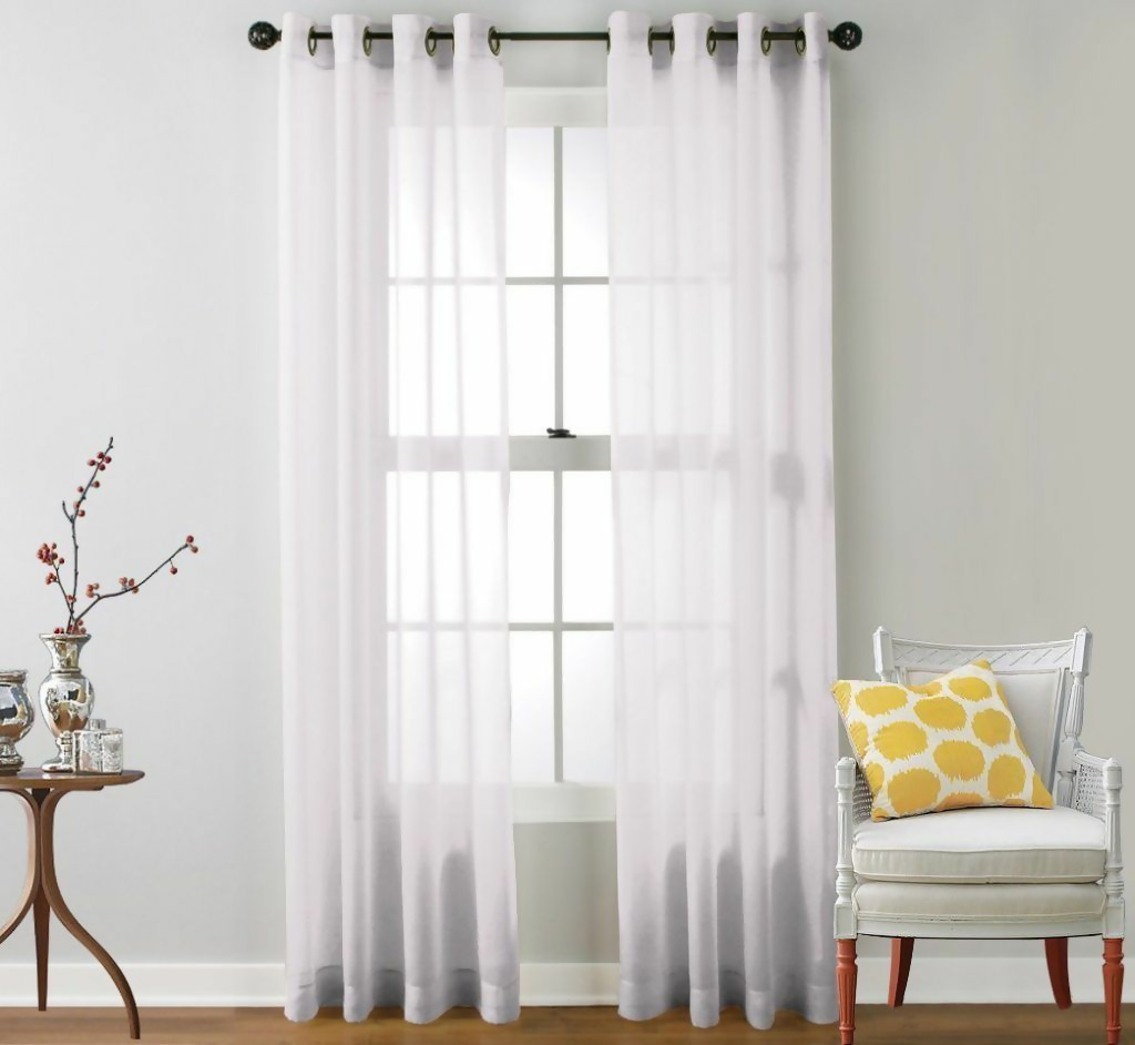 Country style window treatments