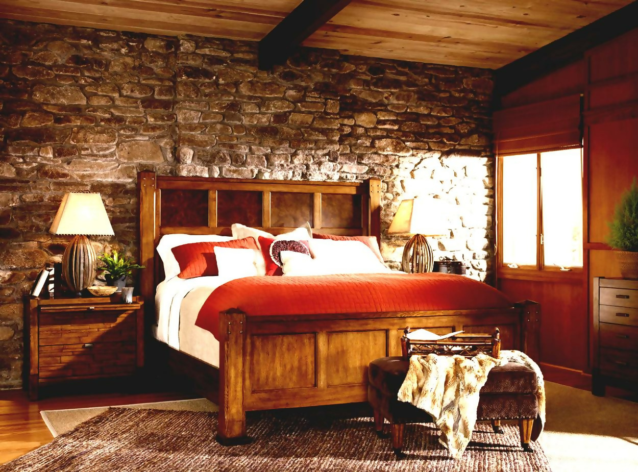 Rustic Bedroom Décor