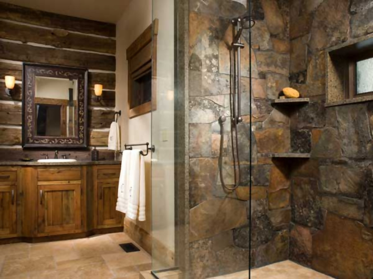 Rustic Bathroom Décor