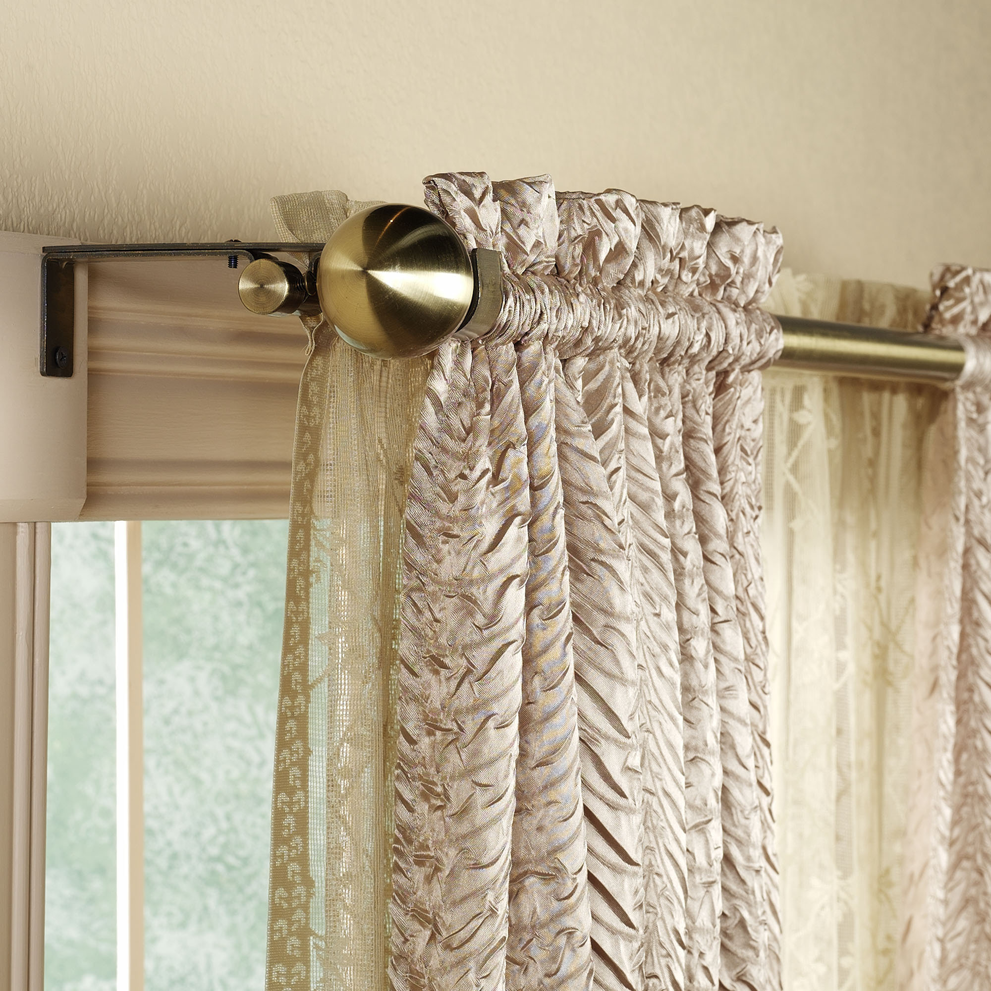 Luxury curtain rods