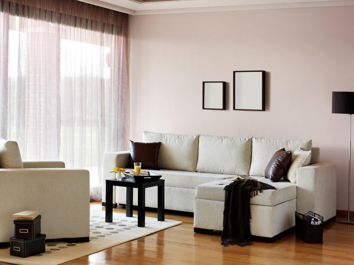 Sheer curtains for living room windows