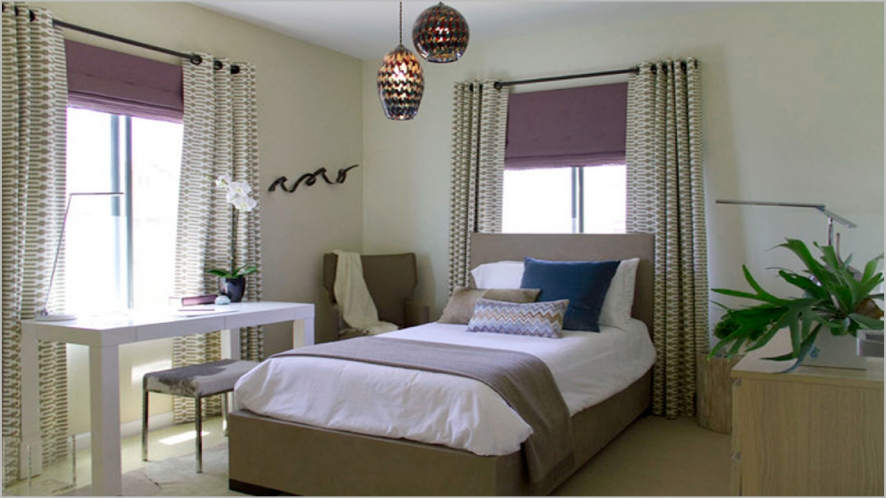 Luxury curtains and shades for bedroom