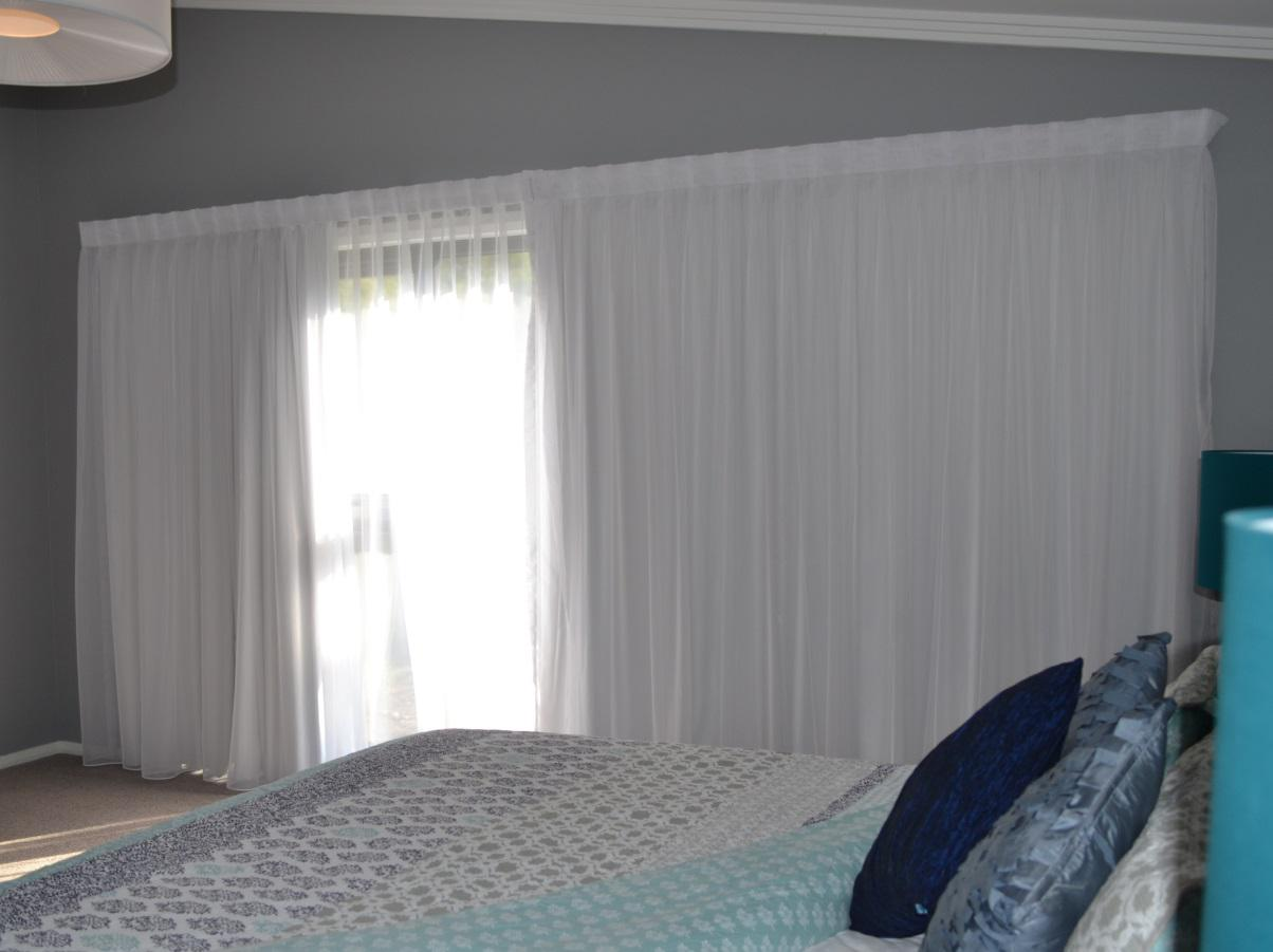Sheer Curtains With Blackout Lining