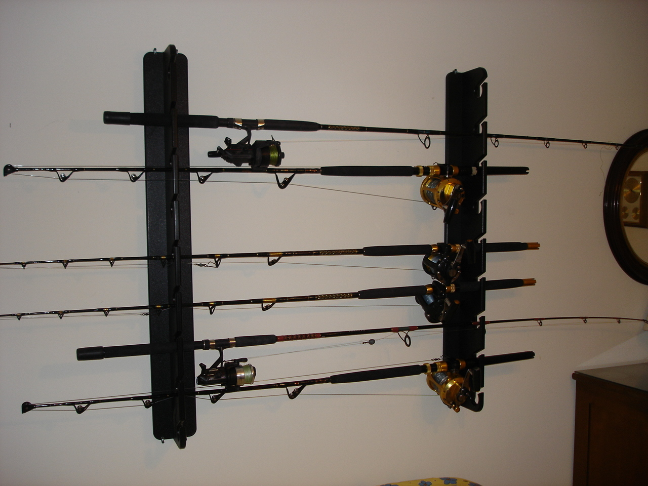 The rod storage
