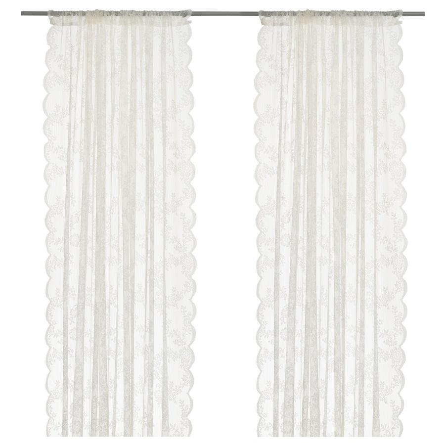 Ikea sheer curtains