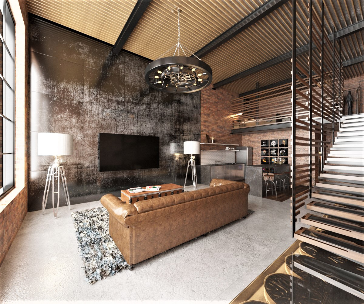 Industrial Loft Décor