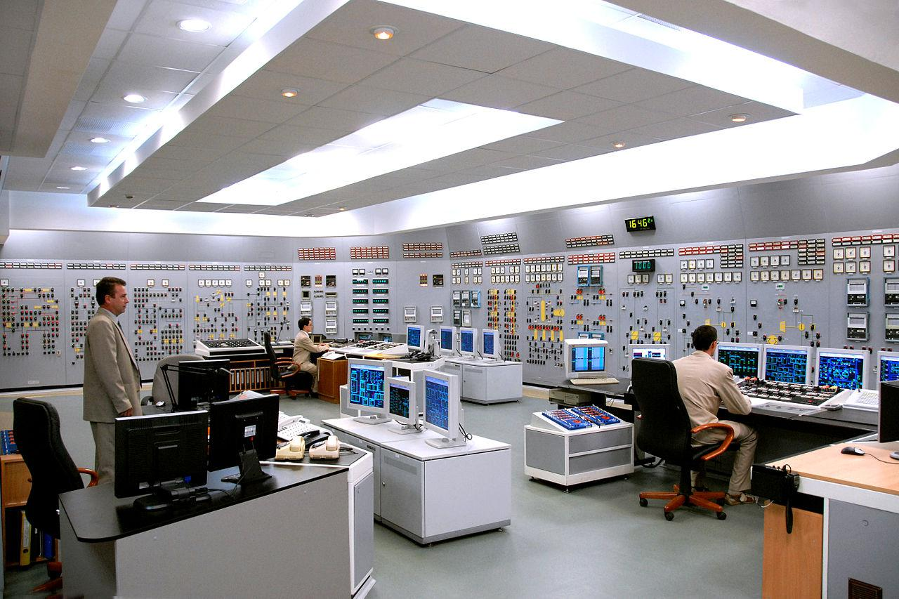 Control rooms in nuclear power plants