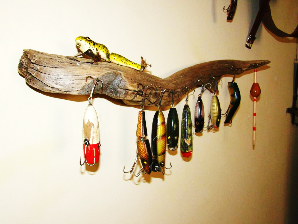 The fishing bait exhibition