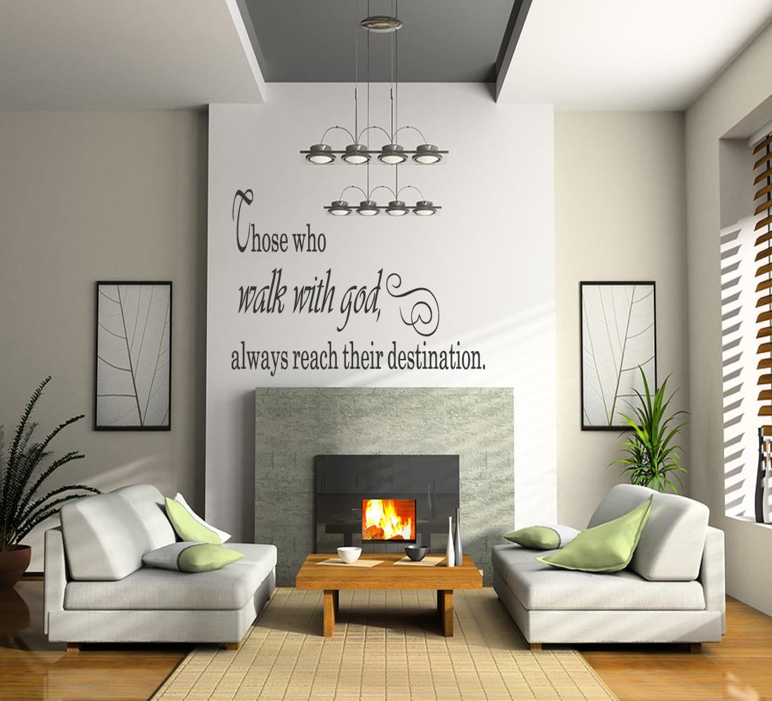 Personalize Your Indoors With Christian Wall Quotes