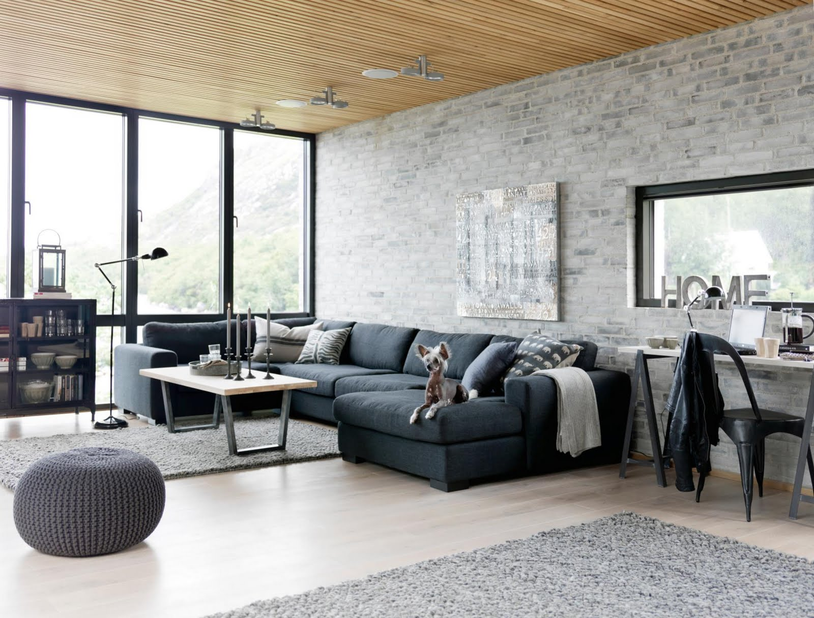 Scandinavian Industrial Interior Design