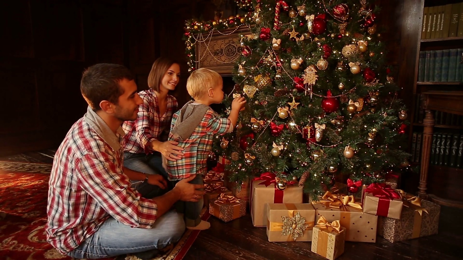 Decorating your home for Christmas with your family
