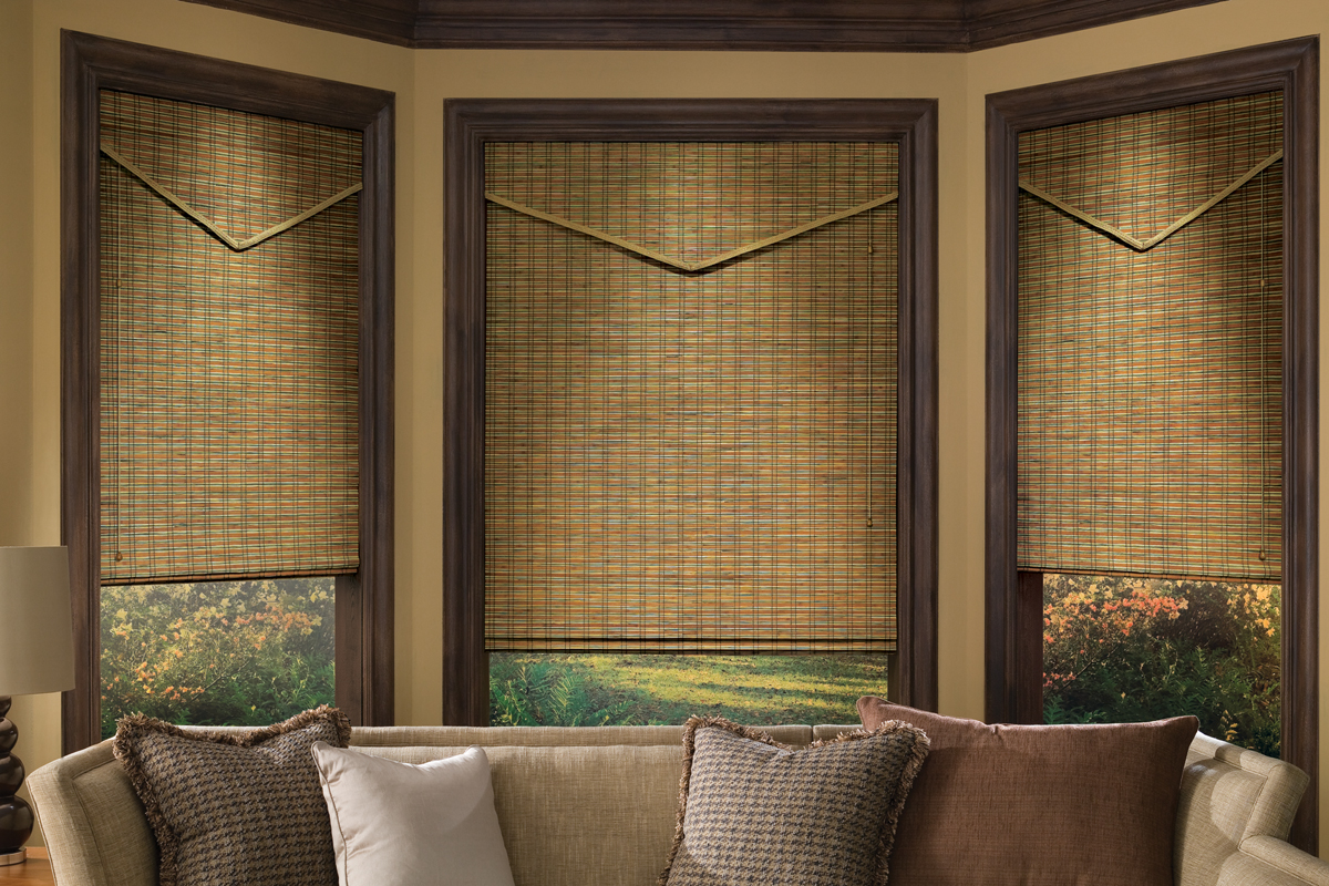 Wood window treatments interior design explained for Decor blinds and shades