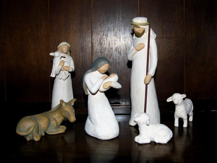 Christian Christmas décor