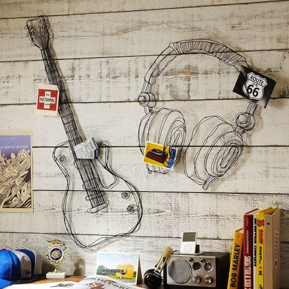 Display your passion for music inside your home