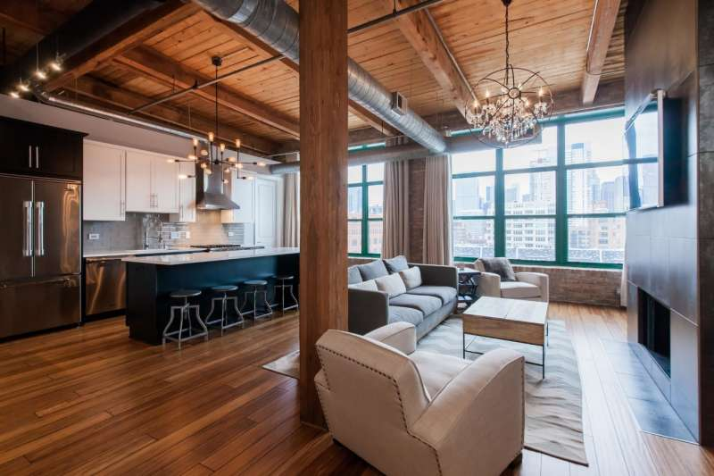 Spacious Loft Decorating Ideas
